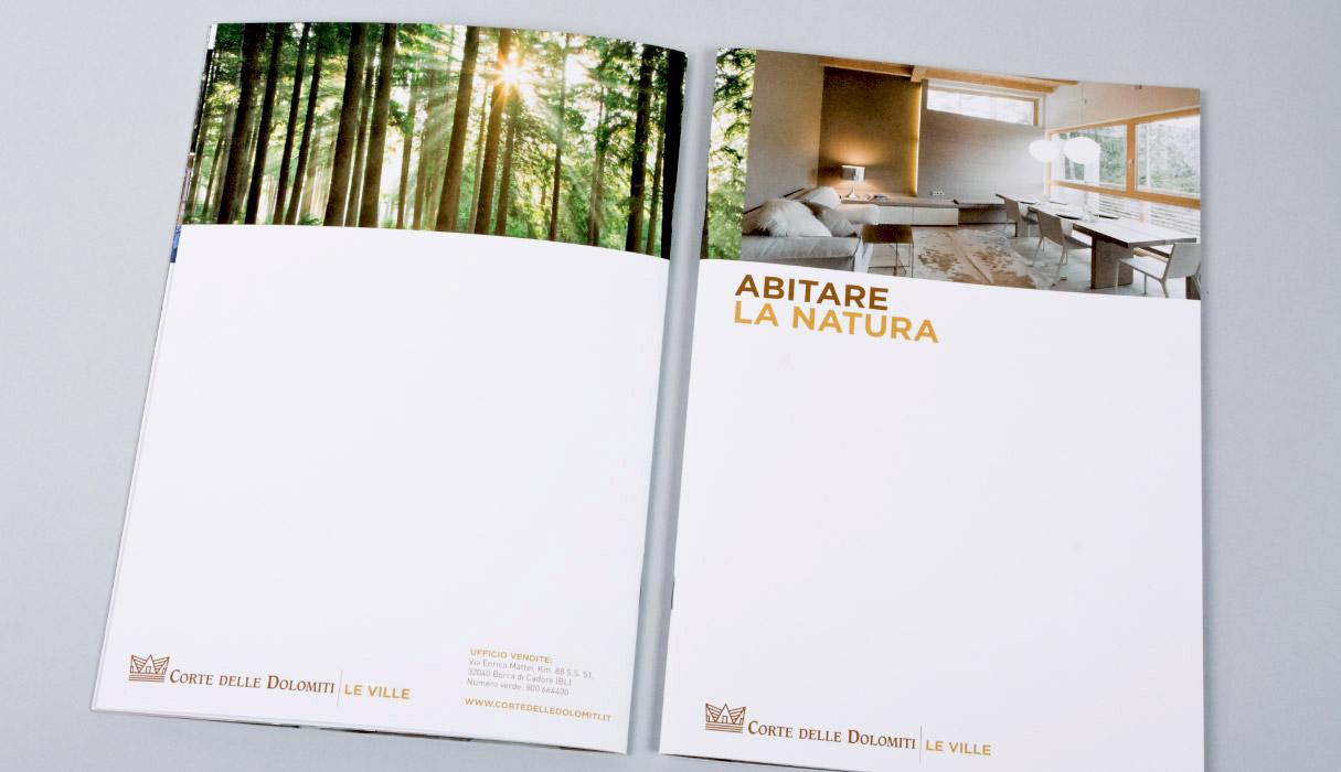 Corte Delle Dolomiti Spa corte delle dolomiti | subtitle | graphic design studio and
